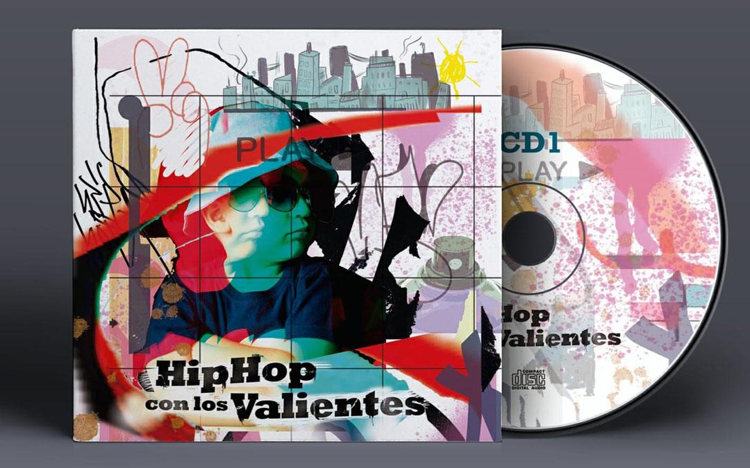 Carátula del triple disco 'Hip hop con los valientes'. / L.C.