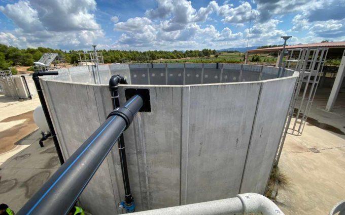 Bioselval inicia los trabajos para poner en marcha la planta de depuración de purín de Valderrobres y crear 10 empleos directos