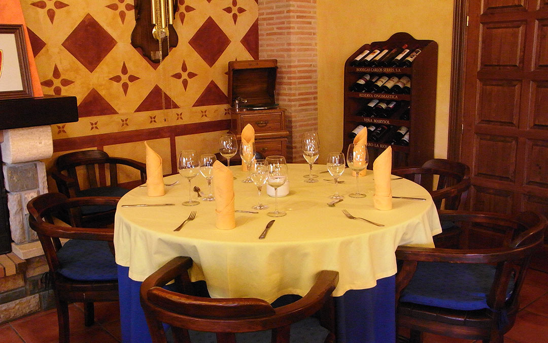 Comedor de Venta de la Pintada./ Comarca Andorra - Sierra de Arcos