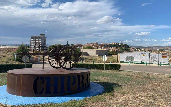 La entrada de Chiprana recupera su simbólico carro