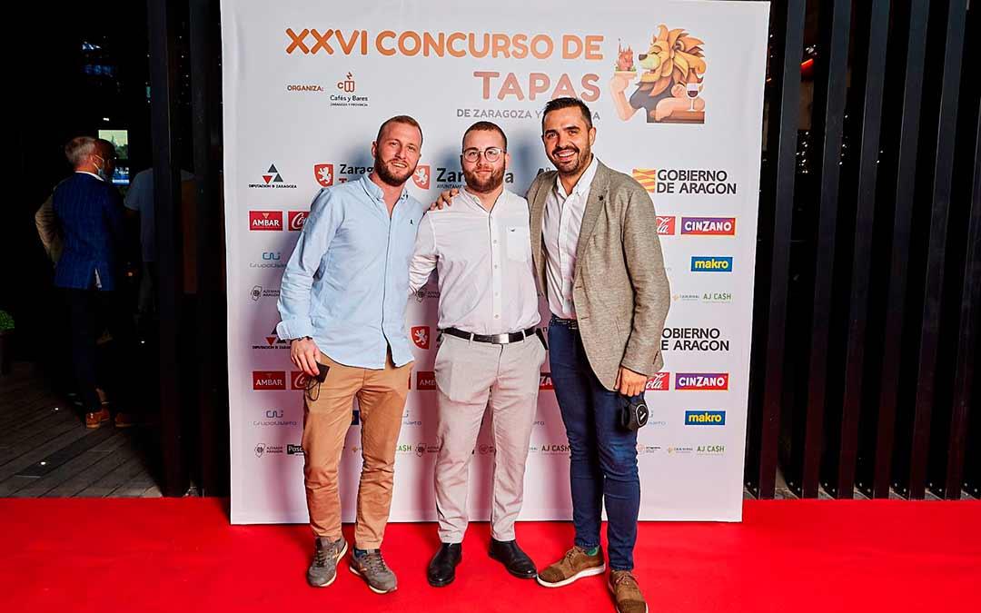 El Chef fabarol Rubén Martín, premiado con la tapa más original en el concurso de Zaragoza