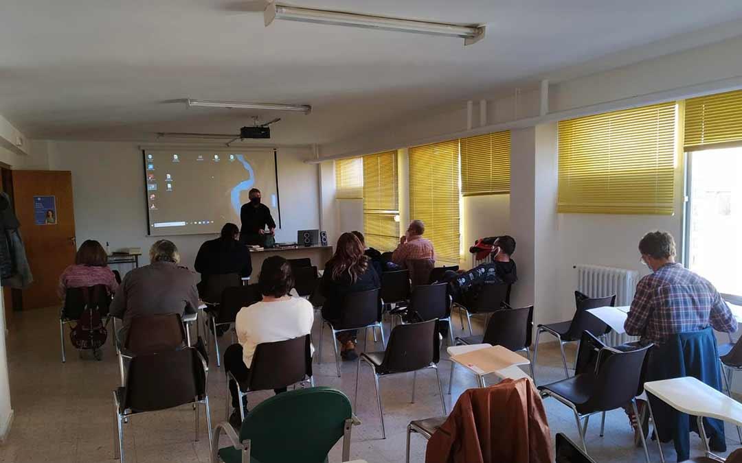 Imagen de la primera edición del curso / Ayto de Caspe