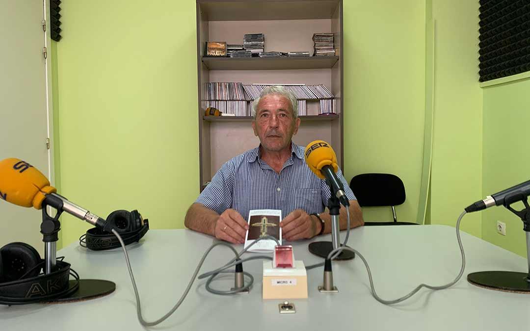 El historiador Domingo Albiac en Radio Caspe / Eduard Peralta