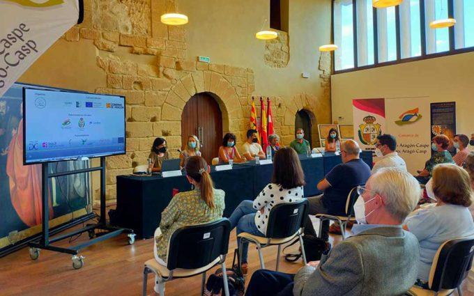Cinco «experiencias innovadoras» inauguran el Laboratorio de Emprendimiento Social en Caspe