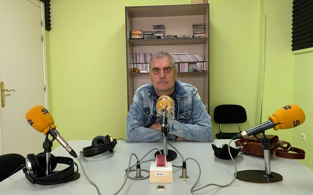 Santiago Pascual en Radio Caspe / Eduard Peralta