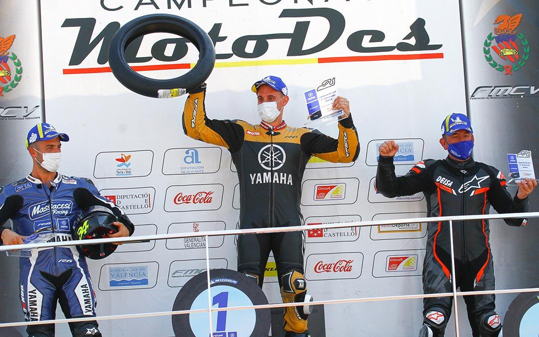 Yeray Maurel vencedor de la categoría 'Rookie' de la Yamaha R6 Cup./ Yamaha R6 Cup