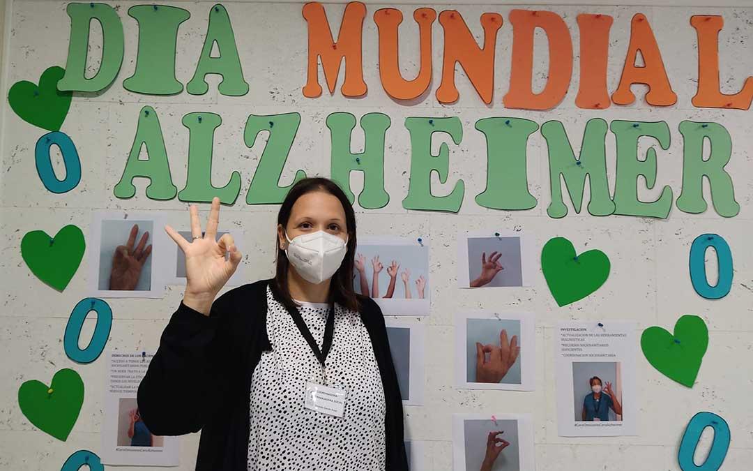 Yolanda Garcés, trabajadora social y coordinadora de AFEDABA-Los Calatravos./ AFEDABA Los-Calatravos