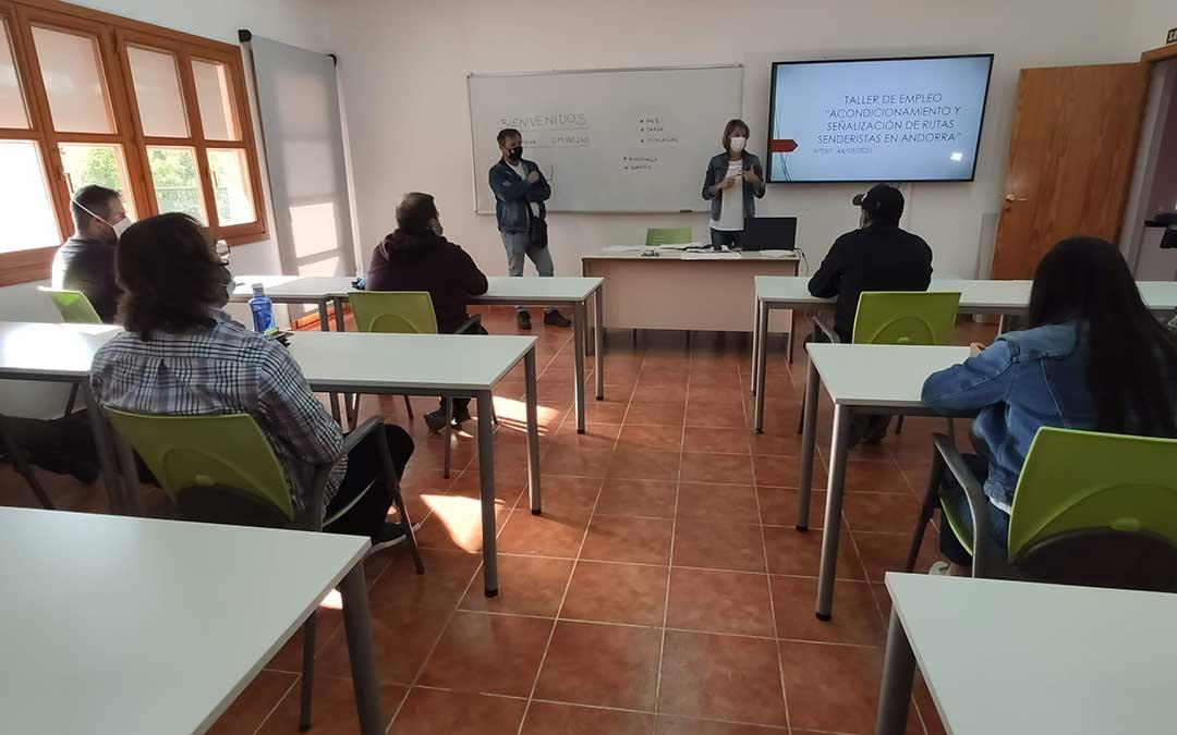Los alumnos recibirán la formación teórica en el Centro de Estudios Ambientales Itaca José Luis Iranzo. / Ayt. Andorra