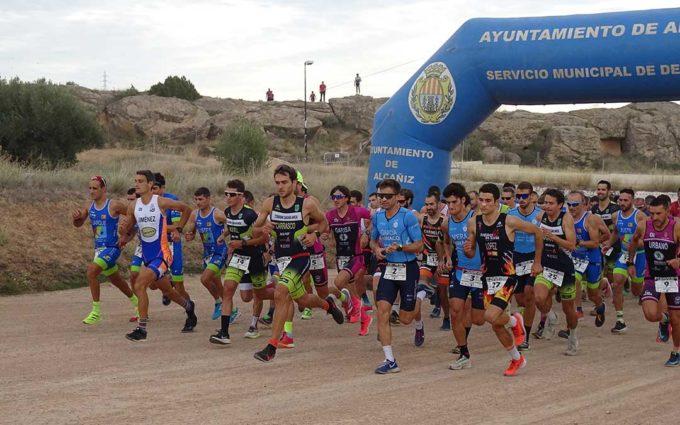 El Club Tragamillas termina tercero en la clasificación por equipos en el Duatlón Cros Ciudad de Alcañiz