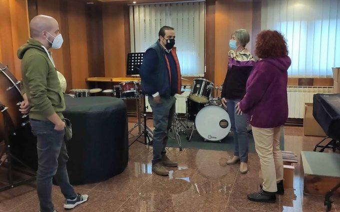 La Escuela Municipal de Música de Andorra empieza el curso en una nueva ubicación