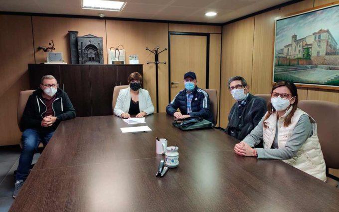 El Ayuntamiento de Caspe y la Banda de Música firman un acuerdo de colaboración