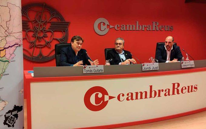 Teruel Existe y la Cámara de Comercio de Reus unen fuerzas para exigir la conversión de la N-420 en autovía, prolongación de la A-40