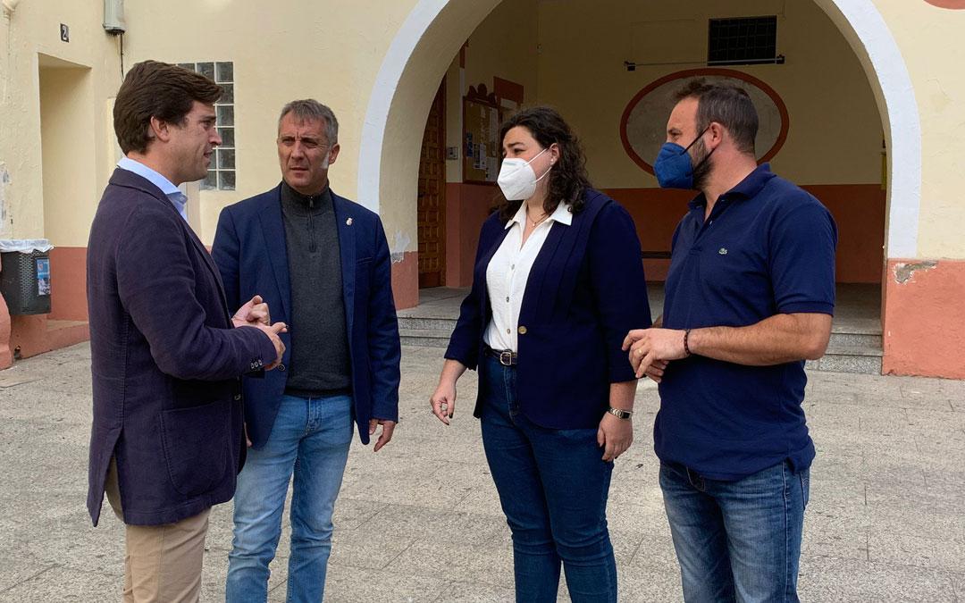 Ramón Celma, Ramiro Domínguez, Isabel Arnas y Samuel Pérez. / PP