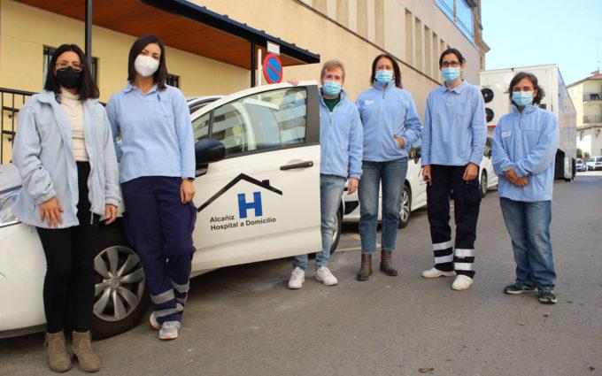 La saturación del Hospital de Alcañiz obliga a parar el servicio de atención a domicilio
