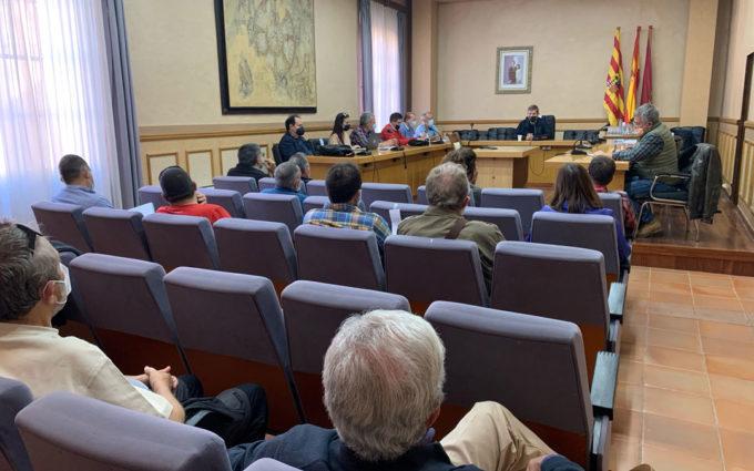 Alcañiz celebra la primera reunión sobre el Plan Estratégico de usos de La Estanca ya en período de redacción
