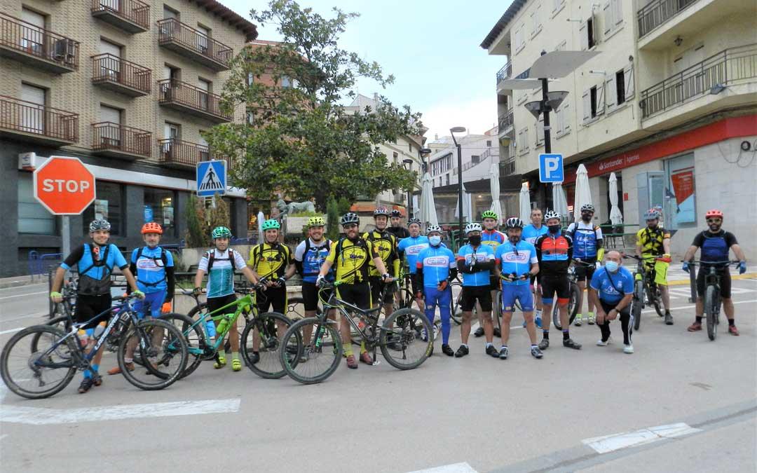 Ruta ciclista hasta el Convento de El Olivar. / Ayto. Alcorisa