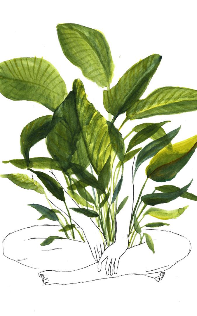 'Malas hierbas', ilustración de Joana Boix. / Archivo personal