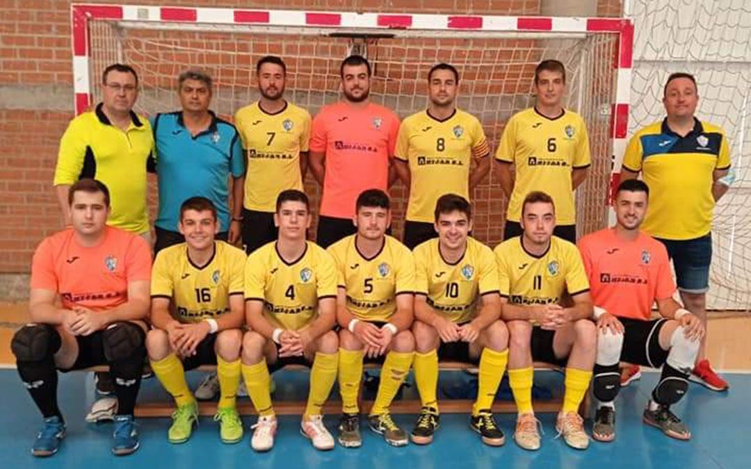 El Boca Híjar vence en Borja por 1 a 4./ Boca Híjar F.S.
