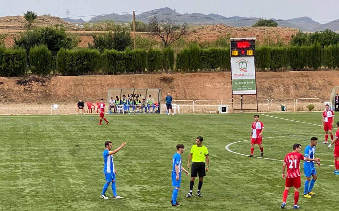 Partido Calanda Club Deportivo-Actur Pablo Iglesias./ J.D.L.