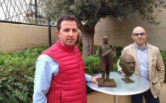 El equipo del alcañizano Daniel Elena y José María Estivill realizará la escultura de Buñuel en Calanda