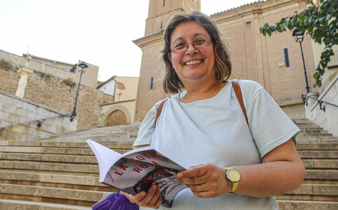 'La gota roja', la primera novela de Graciela Giráldez, prolífica poetisa de Calanda