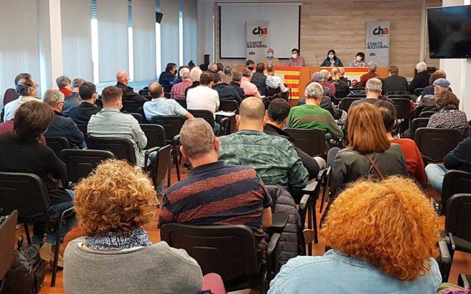 Chunta Aragonesista pide crear una empresa pública energética aragonesa y planificación de las renovables