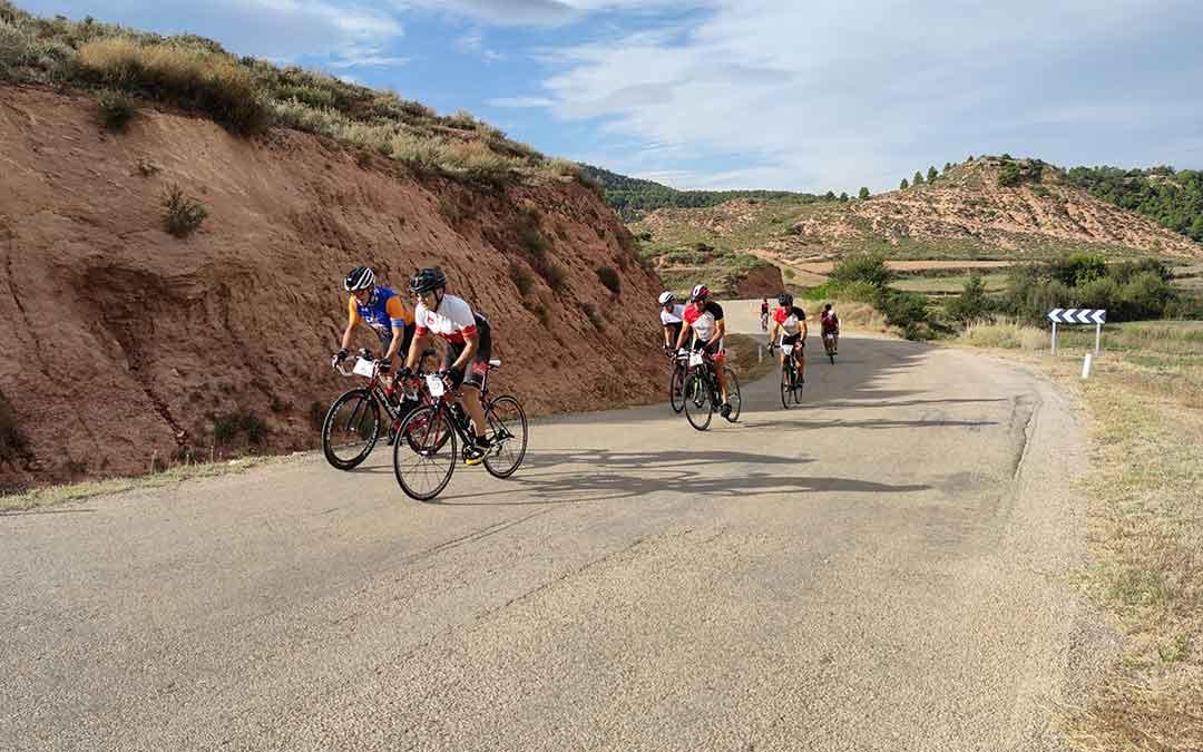 Ciclistas realizando el recorrido./A.G.