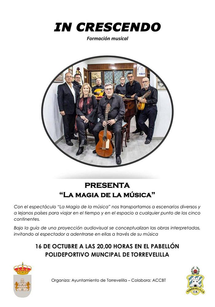 Concierto 'In crescendo' en Torrevelilla