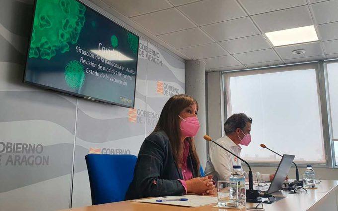 Aragón elimina las restricciones de aforos y horarios al pasar a alerta 1, salvo en la ciudad de Caspe
