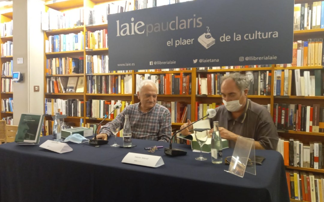 Presentación del libro 'Obra poética completa de Desideri Lombarte' en Barcelona./ IET