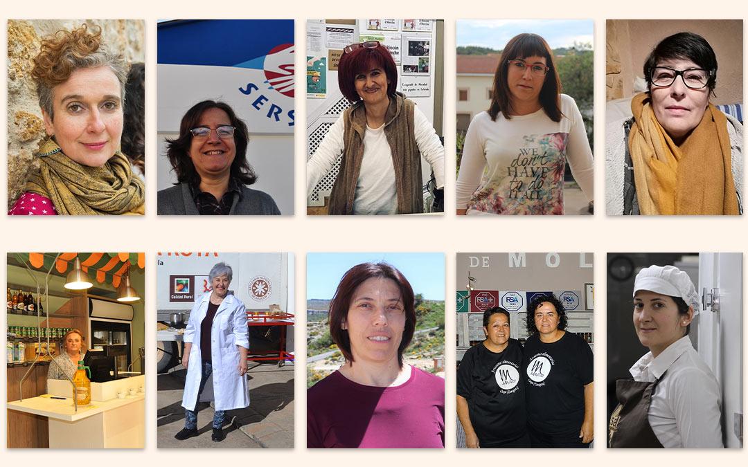 Las mujeres rurales se reivindican como eje del futuro del territorio./ L.C.