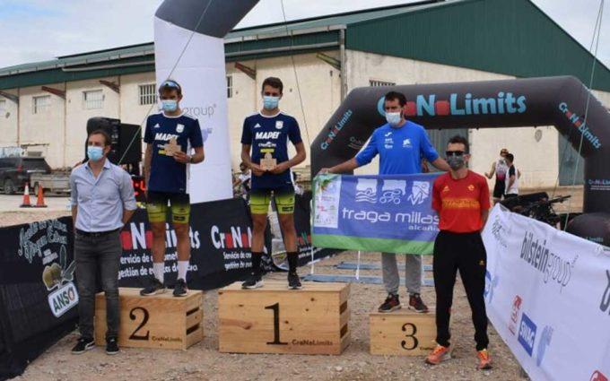 Carlos Jávega finaliza tercero en el duatlón cross La Corona disputado en Bárboles