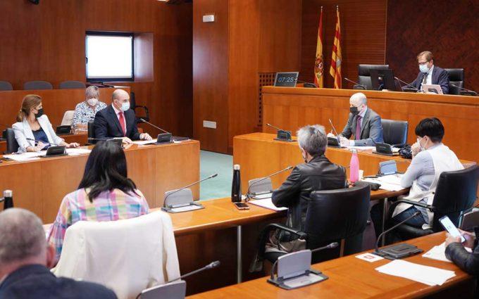 DGA asegura que es «complicado» establecer una moratoria para las renovables en Aragón