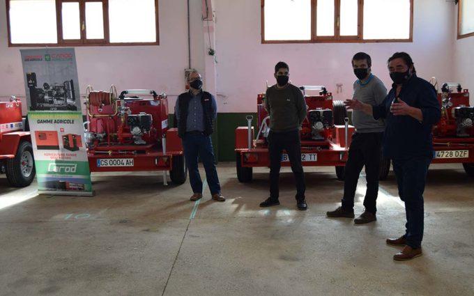 Todos los municipios del Maestrazgo ya cuentan con remolque autobomba propio