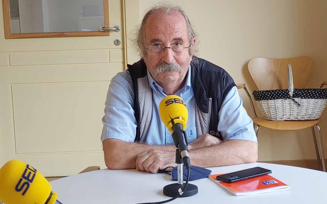 El biólogo Ferrán Vallespinós.