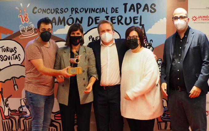 Café Bar Las Vegas de Utrillas, ganador del Concurso de Tapas Jamón de Teruel 2021
