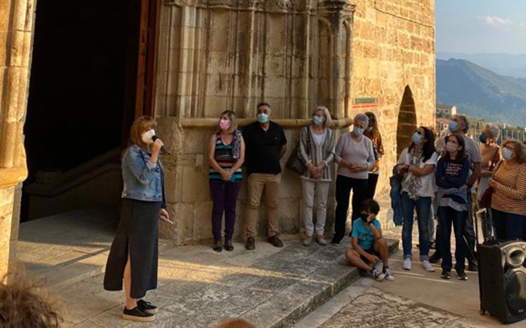 Actividad realizada en Castellote en el marco de las jornadas organizadas por el Día Europeo del Patrimonio./Comarca del Maestrazgo
