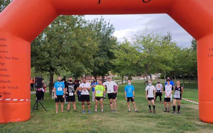 Gran éxito de participación en el Reto solidario 'Kilómetros x alimentos' celebrado en Alcorisa