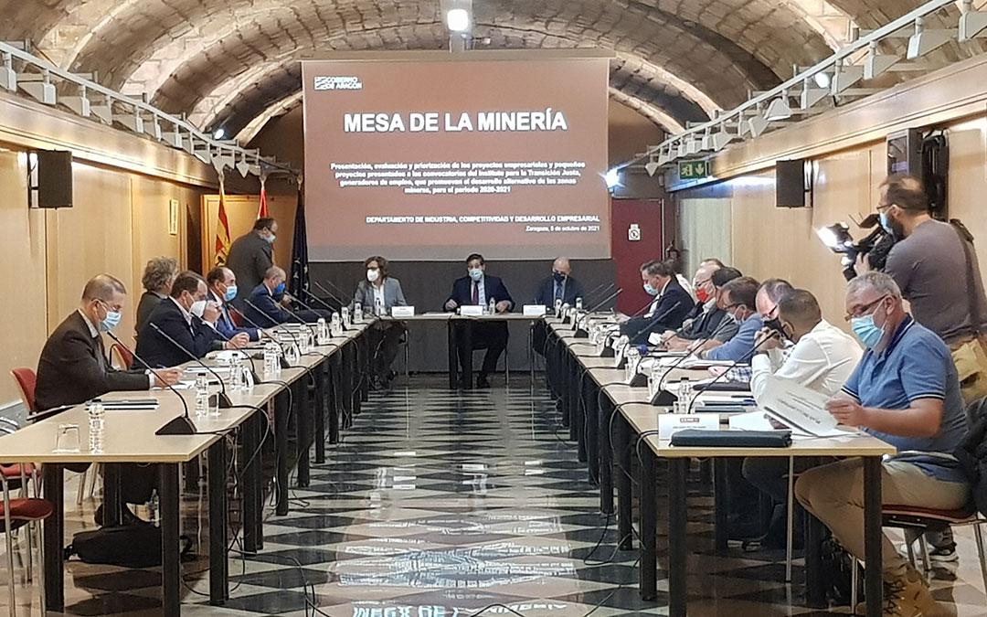 Reunión de la Mesa de la Minería este martes / DGA
