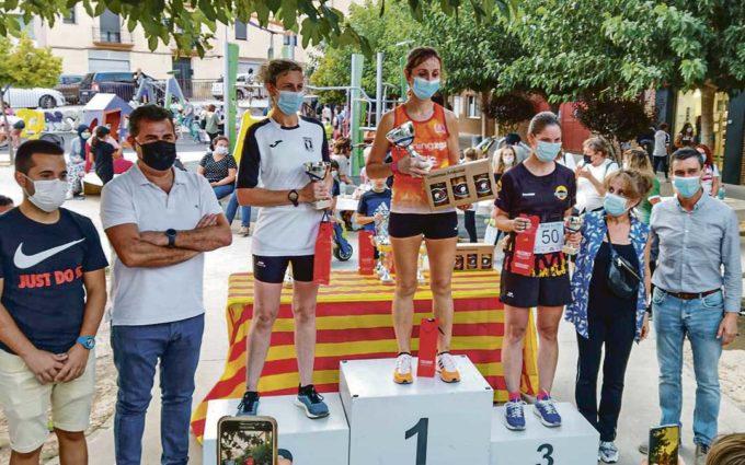 Alberto López y Eva Morraja vencen en Alcorisa