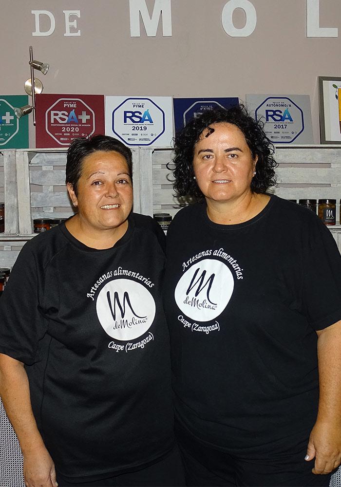 Concha y Antonia Molina Caspe