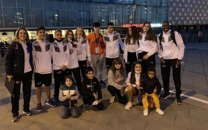 El Cabral Team Taekwondo suma cinco bronces en el Open de Pamplona