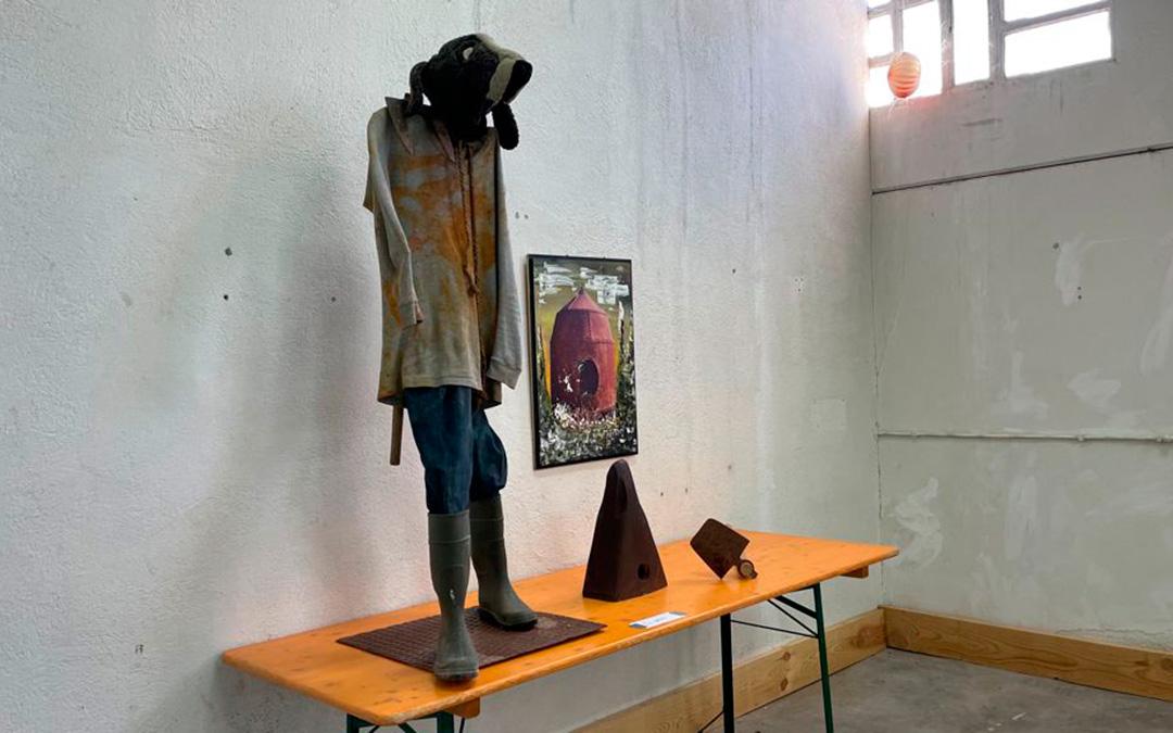 El artista auto-representado./ María Celiméndiz