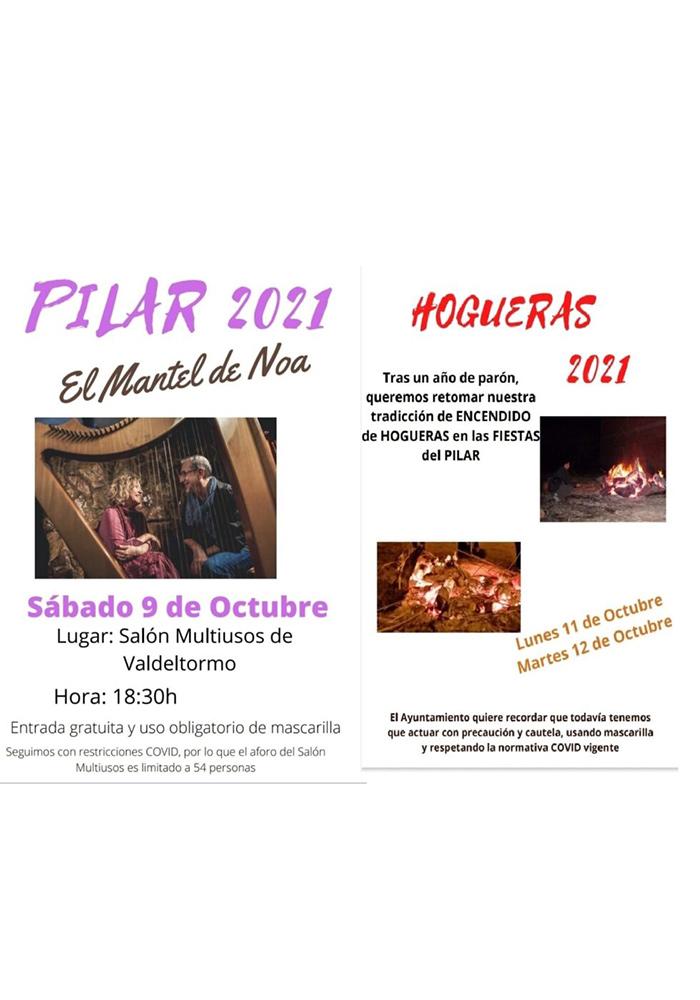 Pilar 2021 en Valdeltormo
