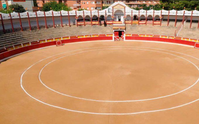 Alcañiz tendrá en Navidad una pista de hielo en la Plaza de Toros