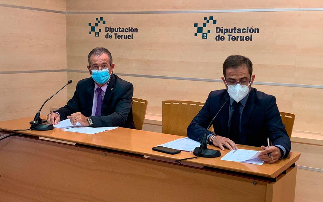 Rueda de prensa del PP en la Diputación de Teruel / PP