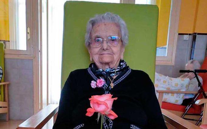 Albalate despide a Rosa Marcuello Sancho fallecida a los 110 años