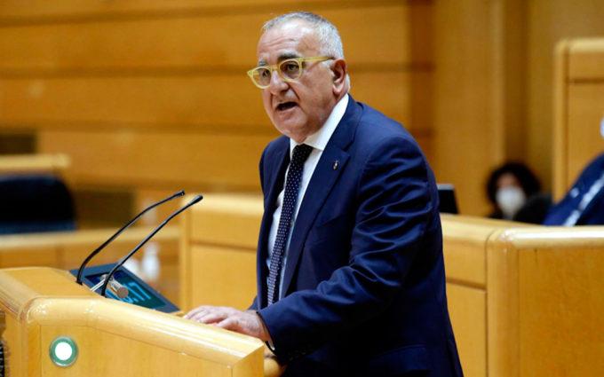 Sánchez-Garnica (PAR) pide en el Senado una bonificación del 20% en las cargas sociales para las empresas turolenses