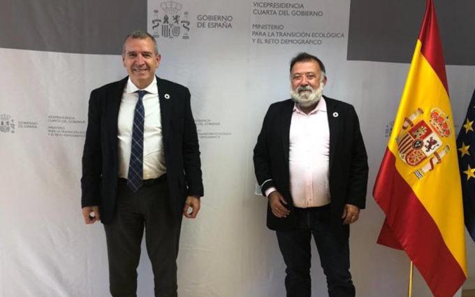 Herminio Sancho pide a Francesc Boya celeridad y concreción para aplicar las ayudas al funcionamiento de las empresas