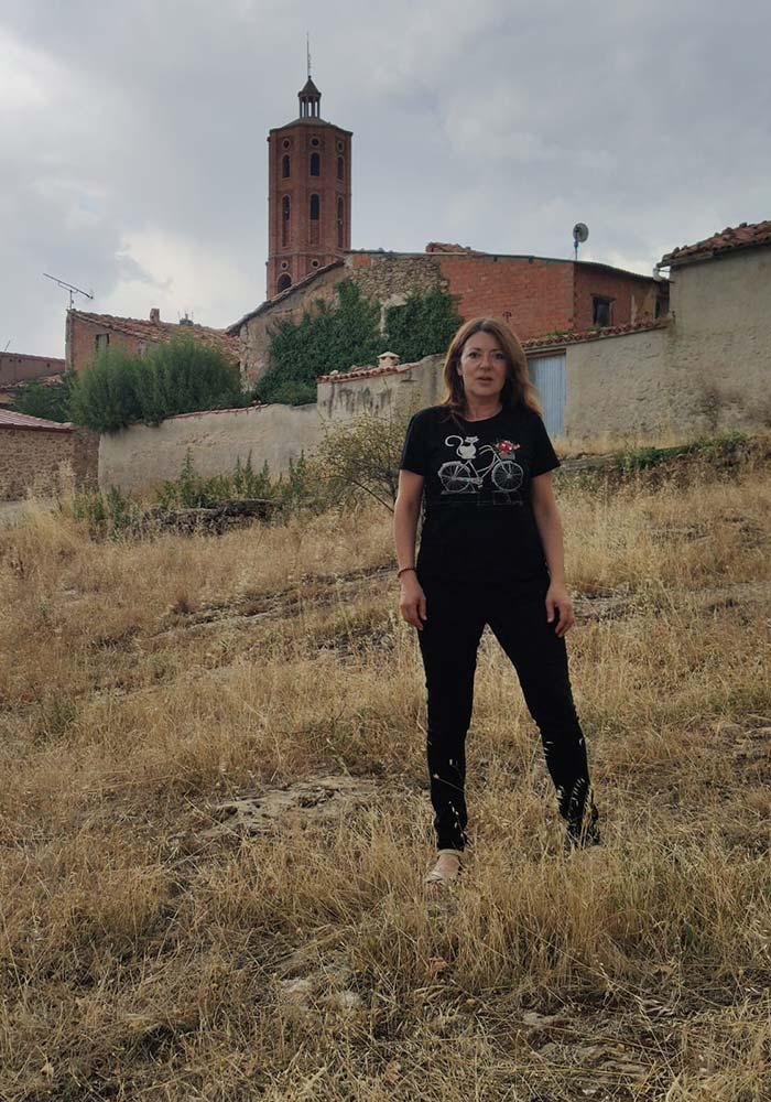 Silvia Gimeno La Mata de los Olmos./ L.C.